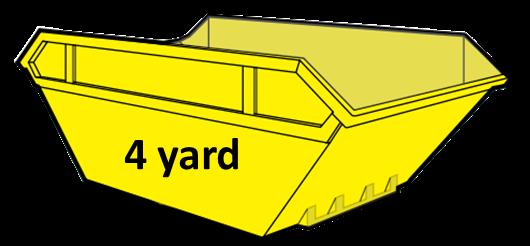 4 yard skip hire cwmbran