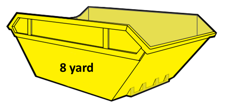8 yard skip hire cwmbran